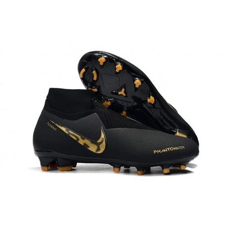 Nike Phantom VSN Elite DF FG Crampons Black Lux