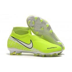 Nike Chaussure Phantom VSN Elite DF FG - Volt Blanc