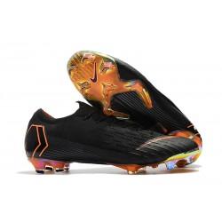 Chaussures Nike Mercurial Vapor XII Elite FG - Noir Orange
