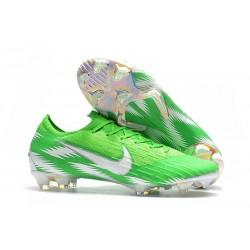 Chaussures Nike Mercurial Vapor XII Elite FG - Vert Argent