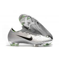 Chaussures Nike Mercurial Vapor XII Elite FG - Argent Noir