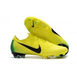 Chaussures Nike Mercurial Vapor XII Elite FG - Volt Vert