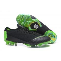 Nike Mercurial Vapor 12 Elite FG Crampons - Noir Vert