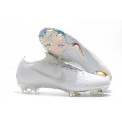 Nike Mercurial Vapor 12 Elite FG Crampons - Blanc