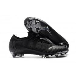 Nike Mercurial Vapor 12 Elite FG Crampons - Tout Noir