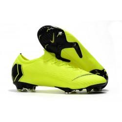 Nike Mercurial Vapor 12 Elite FG Crampons - Volt Noir