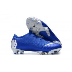 Chaussure Nike Mercurial Vapor XII 360 Elite FG Bleu Platine
