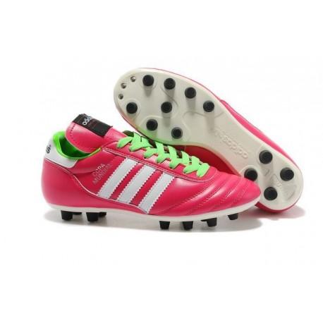 Chaussures de Football adidas Copa Mundial FG Cuir de Kangourou Rose