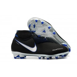 Chaussures Nike Phantom Vision Elite Dynamic Fit FG Noir Bleu