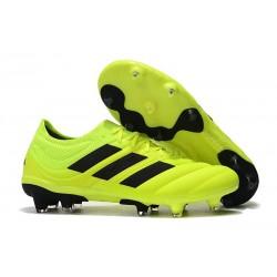 Chaussures Football adidas Copa 19.1 FG Jaune Soleil Noir