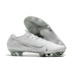 Chaussures Nike Mercurial Vapor 13 Elite FG Blanc