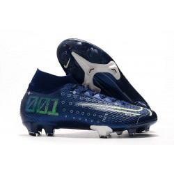 Nike Dream Speed Mercurial Superfly 7 Elite FG - Bleu Blanc