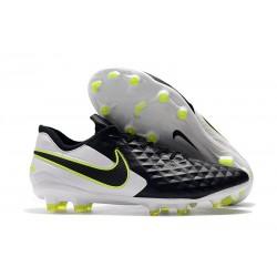 Chaussures Nouvelles Nike Tiempo Legend 8 Elite FG - Noir Blanc