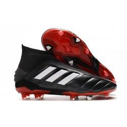 Chaussure de Foot adidas Predator Mania 19+FG ADV Noir Blanc Rouge