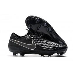 Chaussures Nouvelles Nike Tiempo Legend 8 Elite FG -Noir