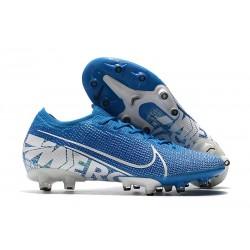 Chaussures Nike Mercurial Vapor 13 Elite AG-Pro Bleu Blanc