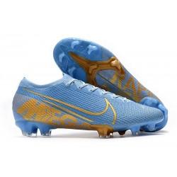 Chaussure Nike Mercurial Vapor 13 Elite FG ACC Bleu Or