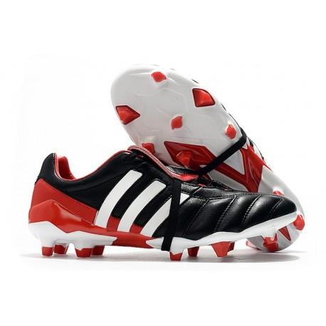 Chaussure de Foot adidas Predator Mania FG - Noir Blanc Rouge