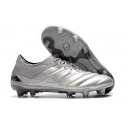 adidas Neuf Chaussure de Football Copa 20.1 FG Encryption Pack Gris Jaune