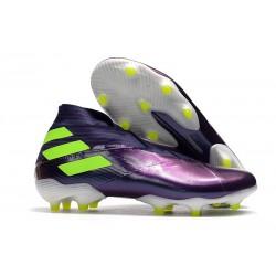 adidas Nemeziz 19+ FG Crampons de Football Viola Jaune
