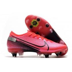 Chaussures Nike Mercurial Vapor 13 Elite SG-Pro Cramoisi Noir