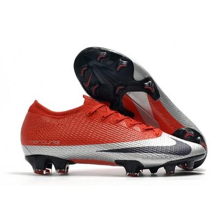 Nike Future DNA Mercurial Vapor 13 Elite FG ACC Rouge Argent
